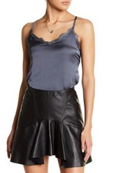 Hip Lace Camisole Gray