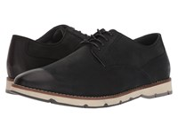 Hush Puppies Hayes Pt Oxford Black Nubuck Lace Up Cap Toe Shoes