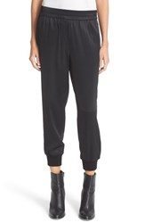 Dkny Women's Ribbed Cuff Ankle Pants