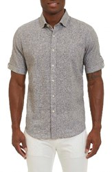 Robert Graham Men's Ronny Sport Shirt Grey