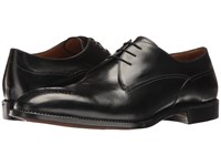 Gravati Blucher W Perforated Medallion Black Men's Shoes