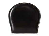 Bosca Old Leather Collection Coin Case Black Leather Coin Purse