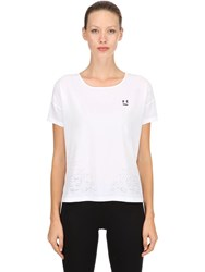 Under Armour Perpetual Woven Performance T Shirt White