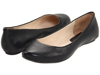 Kenneth Cole Reaction Slip On By Black Leather Women's Flat Shoes