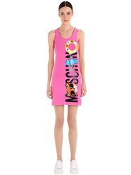 Moschino Print Cotton Jersey Dress