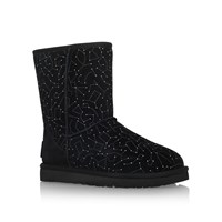 Ugg Classic Short Constellation Flat Boots Black