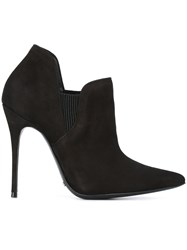 Schutz Stiletto Ankle Boots Black