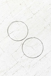 Urban Outfitters Sterling Silver 18K Gold Plated Rachel Large Hoop Earring
