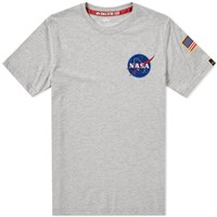 Alpha Industries Space Shuttle Tee Grey