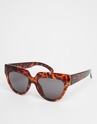 Cheap Monday Laylow Flat Brow Sunglasses Islandturtle