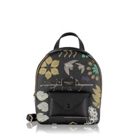 Radley Herbarium Black Medium Backpack Black