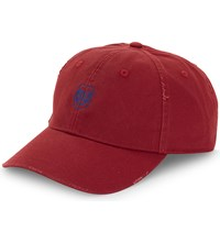 The Kooples Logo Cotton Cap Red01