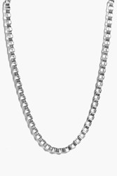 Boohoo Chain Link Necklace Silver