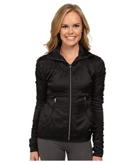 Asics Studio Fit Sana Ruched Jacket Performance Black Women's Workout