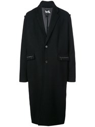 Haculla Dracula Single Breasted Coat Black