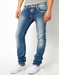 Pepe Jeans Hatch Skinny Fit Mid Wash Glory Blue