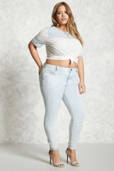 Forever 21 Plus Size High Rise Skinny Jeans