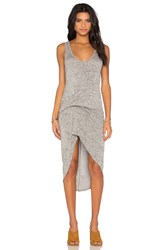 Riller And Fount Bianca Dress Gray