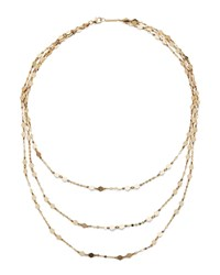 Lana 14K Gold Roma Triple Strand Necklace