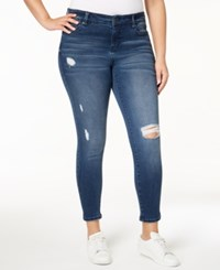 Celebrity Pink Plus Size Ripped Skinny Jeans Mesmerize