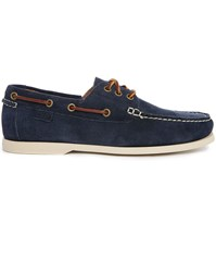 Polo Ralph Lauren Bienne Ii Navy Suede Boat Shoes
