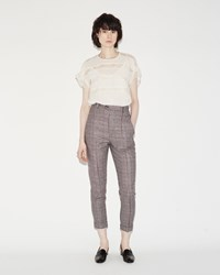 Isabel Marant Katja Trouser Ecru Red