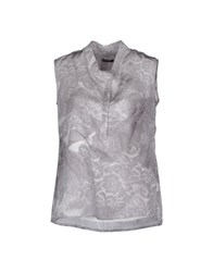 Insideout Shirts Sleeveless Shirts Women Light Grey