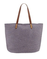 San Diego Hat Company Paperbraid Shoulder Tote Bag Blue