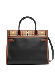Burberry Small Title Vintage Check Tote 60