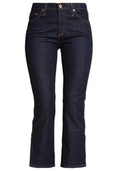 Ag Jeans Jodi Bootcut Rinsed Denim Dark Blue Denim