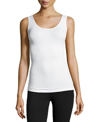 Yummie Tummie Seamless Stomach Slimming Tank Top White