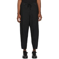 Ziggy Chen Black Drawstring Trousers