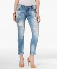 Kut From The Kloth Catherine Ripped Hail Wash Boyfriend Jeans