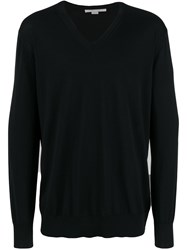 Stella Mccartney Classic V Neck Pullover Black