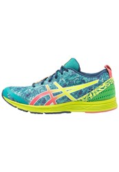 Asics Gelhyper Tri 2 Lightweight Running Shoes Lapis Safety Yellow Guava Turquoise