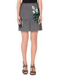 Marni Knee Length Skirts Grey