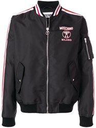 Moschino Double Question Mark Bomber Jacket Unavailable