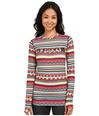 Burton Midweight Crew Mixtec Women's Long Sleeve Pullover Multi