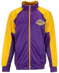 Majestic Men's Los Angeles Lakers Geo Track Jacket