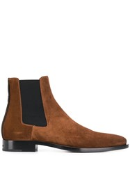 Givenchy Dallas Chelsea Boots Brown