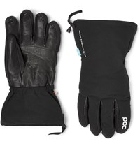 Poc Leather Panelled Padded Waterproof Gloves Black