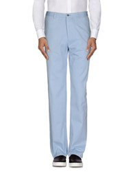 Burberry London Trousers Casual Trousers Men Sky Blue