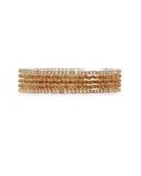 Emily And Ashley Slim Crystal Bangles Neutral