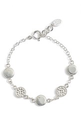 Anna Beck Women's Reversible Station Bracelet Silver