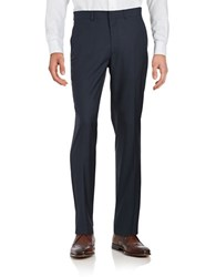 Kenneth Cole Reaction Straight Leg Pants Blue