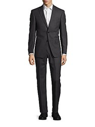 Michael Kors Birdseye Wool Suit Grey