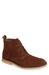 Andrew Marc New York Men's Andrew Marc 'Dorchester' Suede Chukka Boot Umber Deep Natural