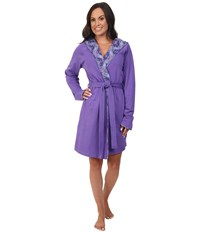 Vera Bradley Knit Robe Purple Lilac Tapestry Women's Robe