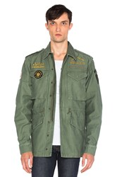 Deus Ex Machina Land M65 Jacket Green