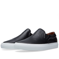 Common Projects Perforated Nappa Slip On Black
